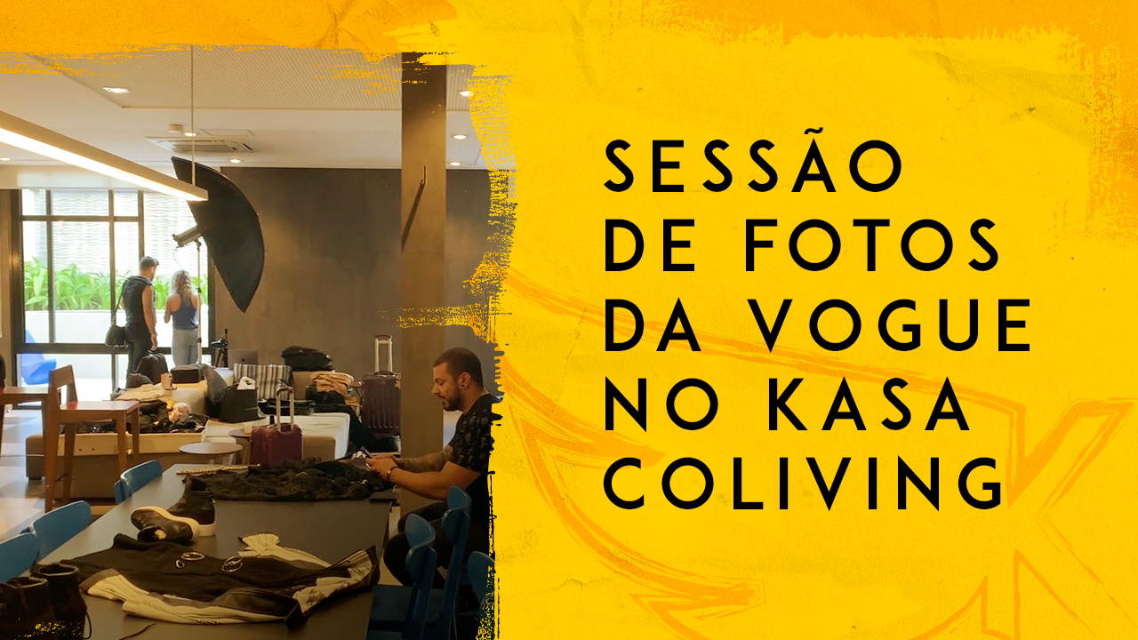 Sessão de fotos da Vogue no KASA Coliving