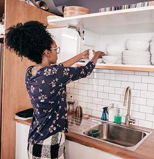 5 dicas de organização para um apartamento pequeno