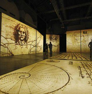 Exposição de Leonardo da Vinci no MIS