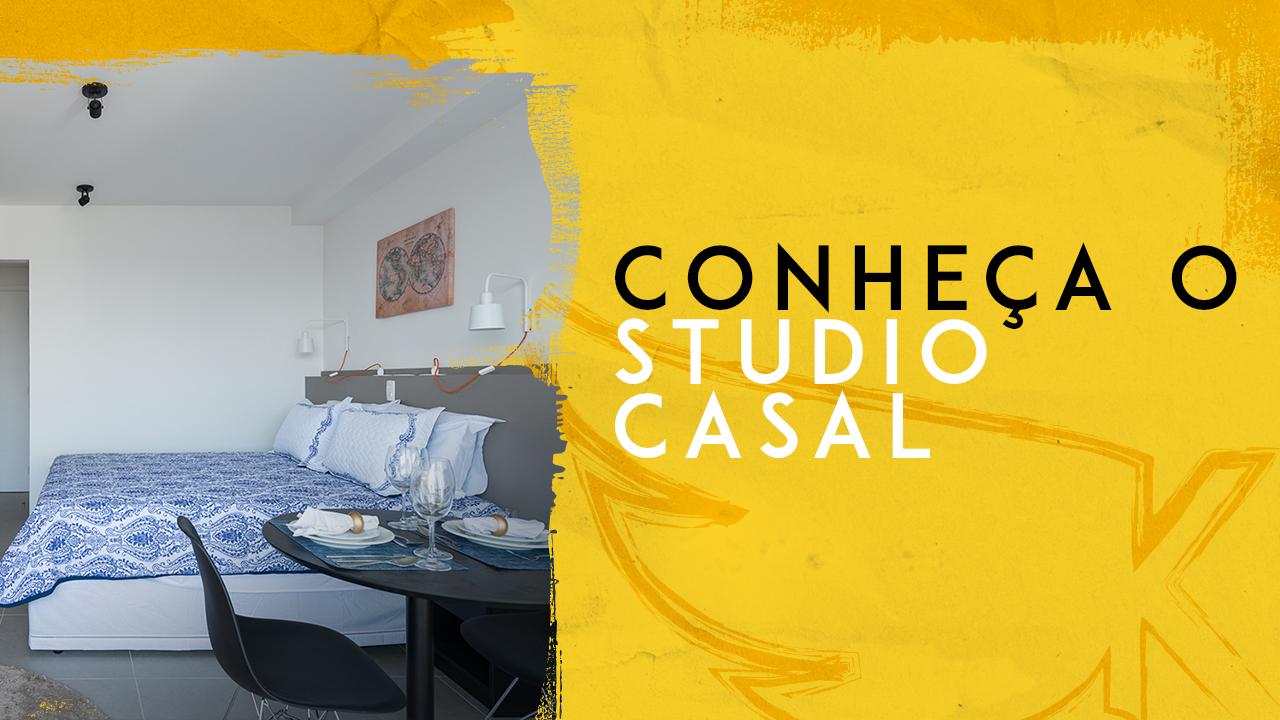 Conheça o Studio Casal – KASA Coliving
