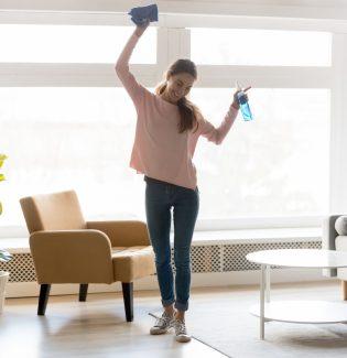 Casa limpa, mente tranquila